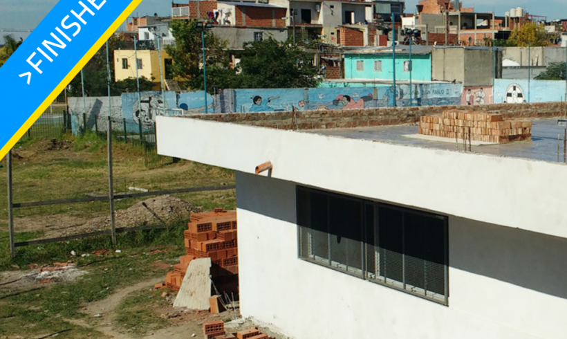 Participation in the construction of secondary school