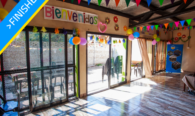 Expansion of the Childcare Center in Quilmes