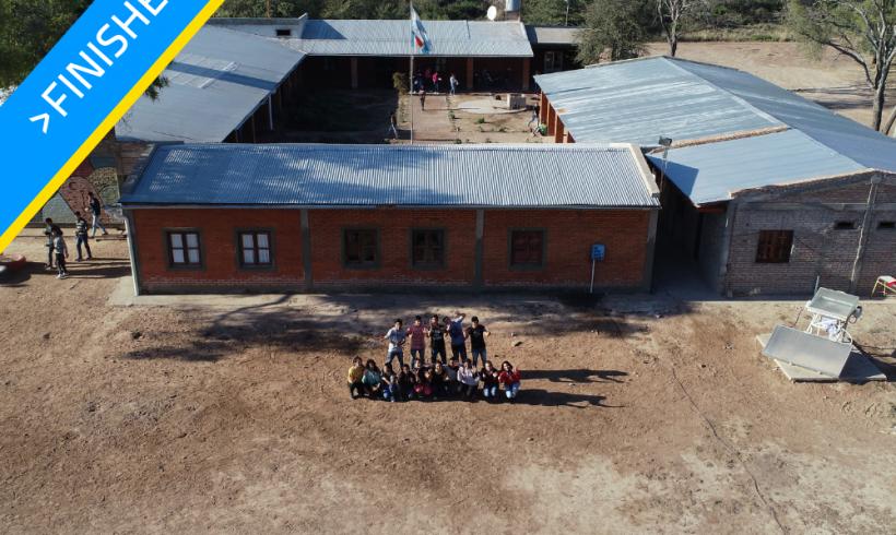 Expansion of school in Santiago del Estero