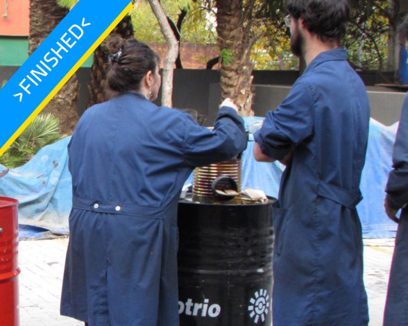 Workshop of efficient wood-burning stoves