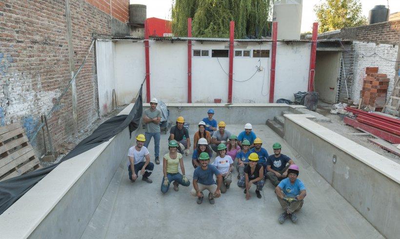 Community Swimming Pool in Bernal