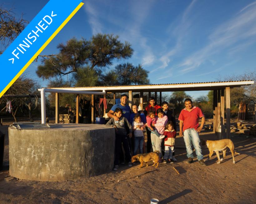 """Water in """"Santa Rosa"""" Community"""