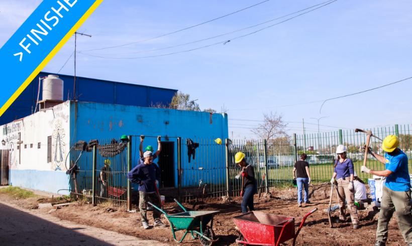Expansion of the addiction rehab center in Ramón Carrillo neighborhood