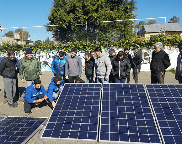 Course on photovoltaic installation