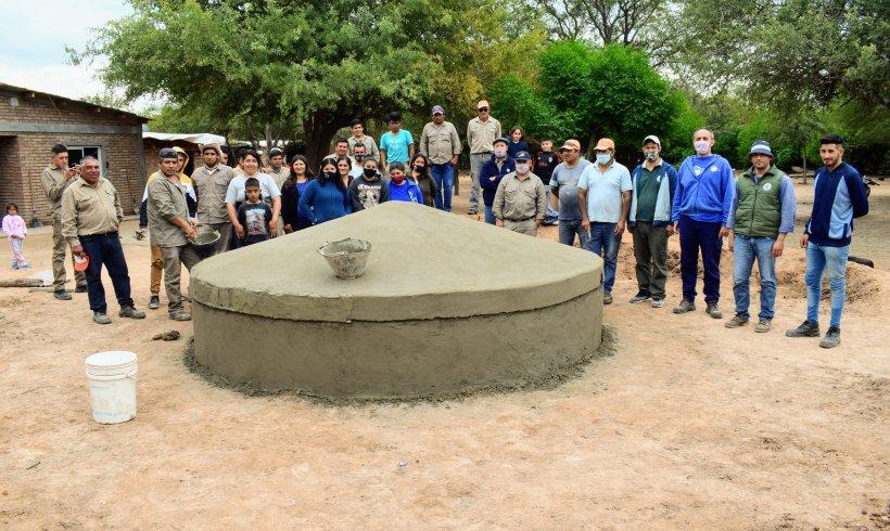 Access to water in San Antonio de Copo