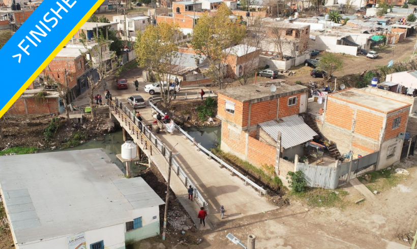 "Vehicular Bridge across Stream ""Las Piedras"""